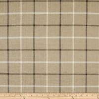 KasLen Pennington Plaid 200 Sepia
