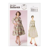 Butterick B6284 Patterns by Gertie Misses' Dress E5 (Sizes 14-22)