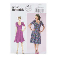 Butterick B6380 Patterns by Gertie Sweetheart Dress w/ Gathered Bodice E5 (SZ 14-22)
