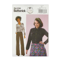 Butterick B6390 Patterns by Gertie Button-Down Jacket with Bust Pockets A5 (Sizes 6-14)