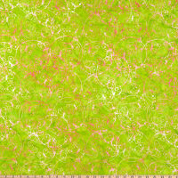Anthology Batiks Changing Seasons Butterfly Dance Melon