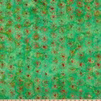Anthology Batiks Changing Seasons Embrace Parrot