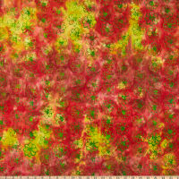 Anthology Batiks Changing Seasons Embrace Watermelon