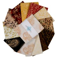 "Anthology Batiks Mrs. Daniels 18"" Fat Quarter Bundle Multi 12 pcs"