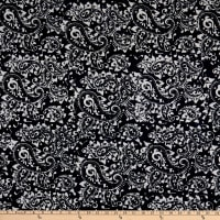 Anthology Batiks Rhythm Of The Night Novelty Paisley Song Black