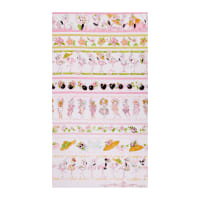 "Loralie Designs Flamingo Fancy Flams 24"" Border Panel Pink"