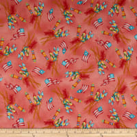Maywood Studio Back Porch Celebration Vintage Fireworks Geranium