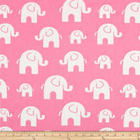 Premier Prints Bobo Cotton Duck Polish Pink