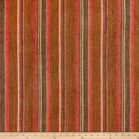 Beacon Hill Gaucho Stripe Linen Woven Teak