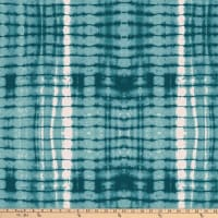 Michael Miller Minky Mudcloth  Nia Teal