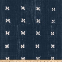 EZ Fabric Minky Mudcloth Mabel Navy