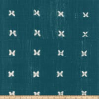 Michael Miller Minky Mudcloth Mabel Teal