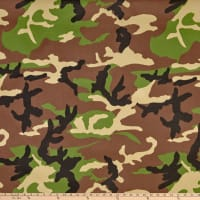 Ottertex Waterproof Canvas Camo