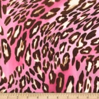 Michael Miller Minky Wild Panther Pink