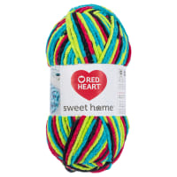 Red Heart Sweet Home Blacklight