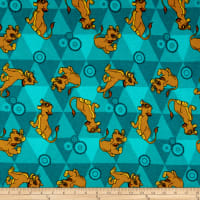 Disney Flannel Lion King Friends Teal Green