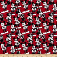 Disney Mickey and Minnie Hearts Red