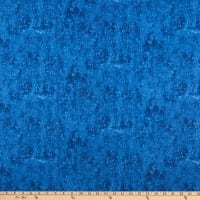 Henry Glass Winter Cottage Texture Navy