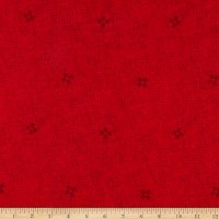 Henry Glass Flannel Woodland Haven Texture Red