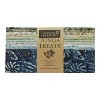 "EXCLUSIVE Timeless Treasures Tonga Treats Batiks 10"" Square Pack 20 Pcs Shore"