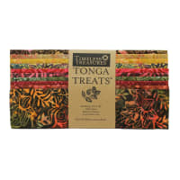 "EXCLUSIVE Timeless Treasures Tonga Treats Batiks 10"" Square Pack 20 Pcs Spark"