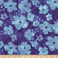 Hoffman Bali Batik Graphic Flower Savannah