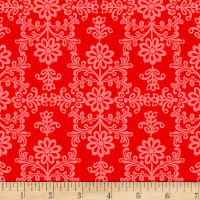 Frida's Damask Red