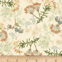 Oak Florals Cream/Multi