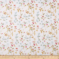 Blossoms Ivory/Multi