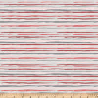 Stoffabric Denmark Dawn Wavey Stripes Light Grey