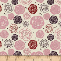Stoffabric Denmark Avalana Organic Rose Cream