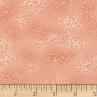 Stoffabric Denmark Twist Small Leaves Rose