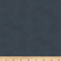 Stoffabric Denmark Twist Small Dots Black