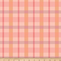 Flower Market Plaid Pink