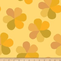 Flower Market Modern Petals Yellow