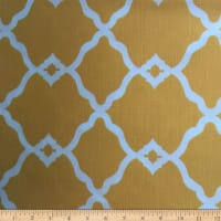 Europatex Fretwork Indoor/Outdoor  Yellow