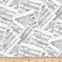 Wilmington Interlude Sheet Music White/Gray