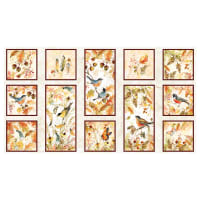 "Wilmington Forest Dance 24"" Craft Panel Multi"