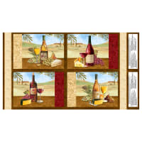 """Wilmington Tuscan Delight Placemat 24"""" Panel Multi"""