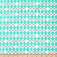 Camelot Dumbo in the Circus Vintage Argyle Turquoise