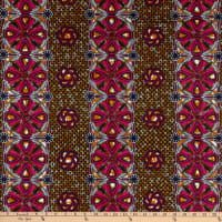 Supreme African Wax Print 6 Yards Red