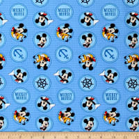 Disney Mickey Mouse Oh Boy! Friends in Circles Blue