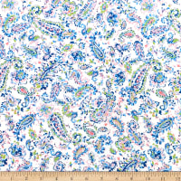 Camelot By The Sea Water Paisley Blue