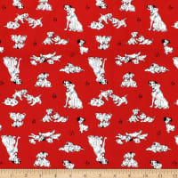 101 Dalmations Pongo Perdy & Puppies Red
