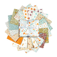 "Camelot Autumn Impressions 18"" Fat Quarter Bundle 19pcs Multi"