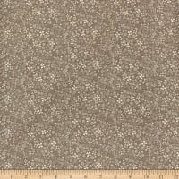 Home on the Prairie Ditsy Dark Taupe