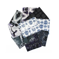 Marvel Heroes - Black Panther Fat Quarter Bundle 8 Pcs