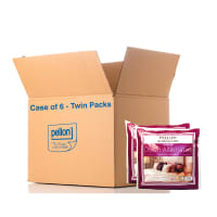 "Pellon® DAPI- Down Alternative Twin-Pack Pillow Inserts 16"" x 16"" - Case of 6 Twin Packs"