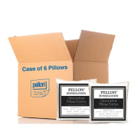 "Pellon® PPI- Decorative Microfiber Shell Pillow Form 16"" x 16"" - Case of 6 Pillows"
