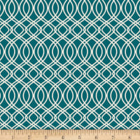Art Gallery Bloomsbury Knotted Trellis Spearmint Teal